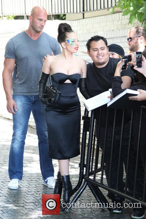 Lady Gaga at Chateau Marmont