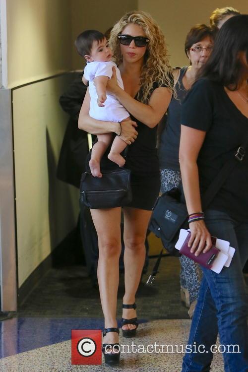 Shakira and Milan Pique Mebarak 9