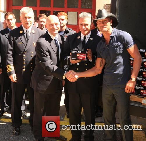 Tim McGraw and Salvatore J. Cassano 6