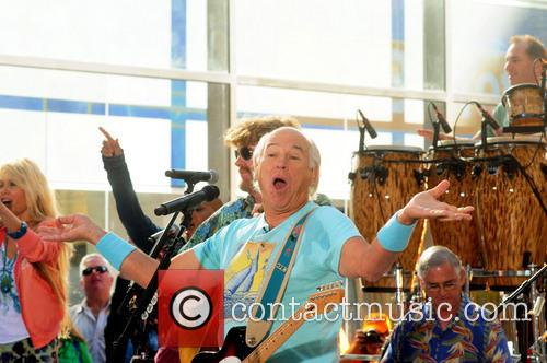 Jimmy Buffett performs on Today Show concert series