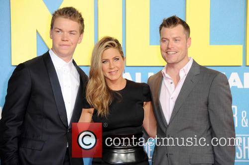 Will Poulter, Jennifer Aniston and Rawson Marshall Thurber 3