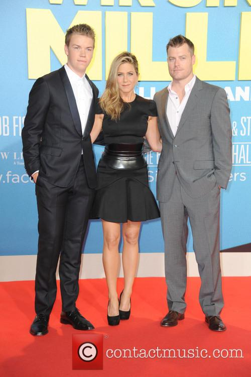 Will Poulter, Jennifer Aniston and Rawson Marshall Thurber 5