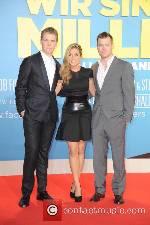 Will Poulter, Jennifer Aniston and Rawson Marshall Thurber 9
