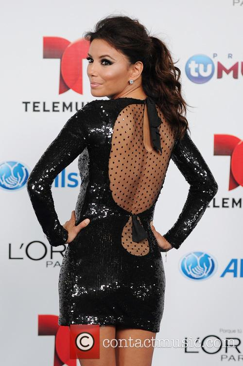 Eva Longoria arrives for Telemundo's Premios Tu Mundo...