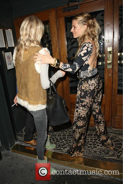 Poppy Delevingne and Sienna Miller 3