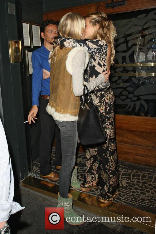 Poppy Delevingne and Sienna Miller 6