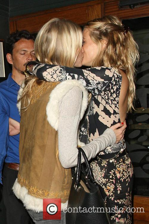 Poppy Delevingne and Sienna Miller 7