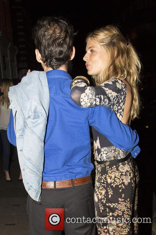 Sienna Miller and Matthew Williamson 7