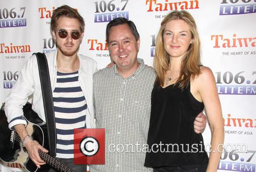 Arthur Darvill, Rich Kaminski and Joanna Christie 7