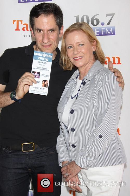 Seth Rudetsky and Eve Plumb 2