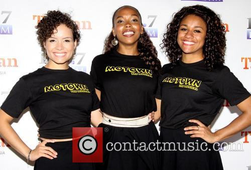 Sydney Morton, Dionne Figgins and Ariana Debose 2
