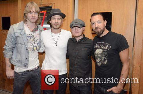 Lifehouse, Bryce Soderberg, Ben Carey, Rick Woolstenhulme and Jr. Jason Wade 1