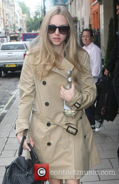 Amanda Seyfried leaving her hotel