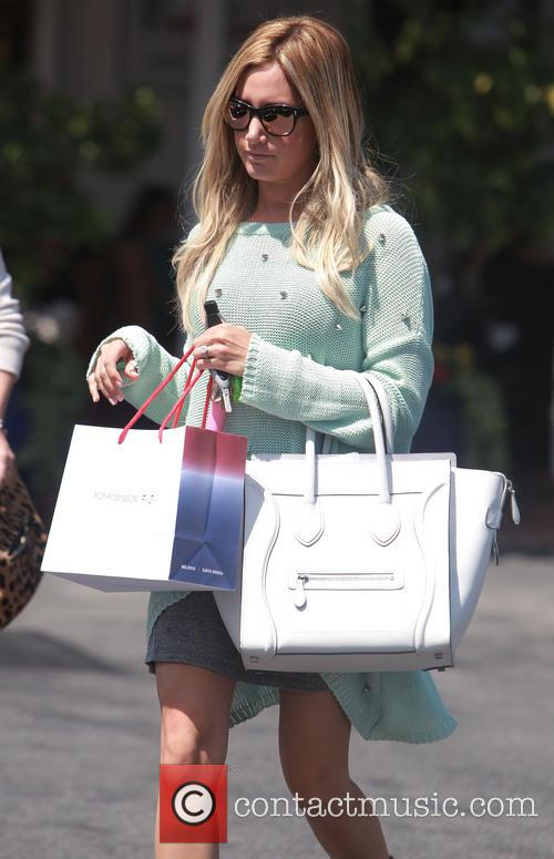Ashley Tisdale Shopping with Friends