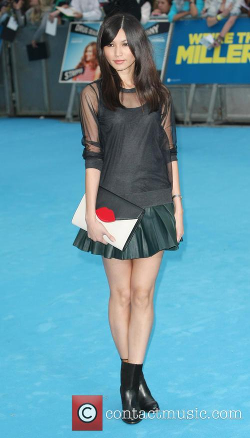 gemma chan were the millers film premiere 3816063