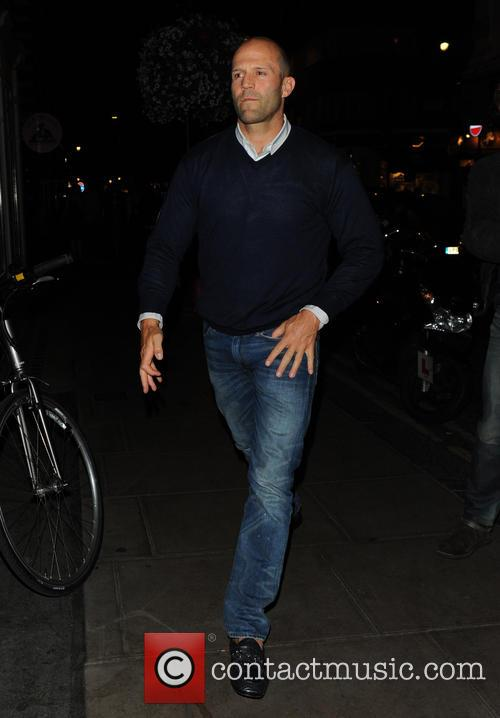 jason statham celebrities at the groucho club 3820471