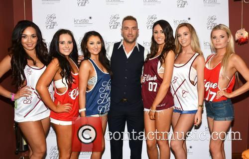 Ella Goodwin, Ciara Kelly, Lorna Spain, Calum Best, Megan Dunphy, Clare Doherty and Jane Lyons 1