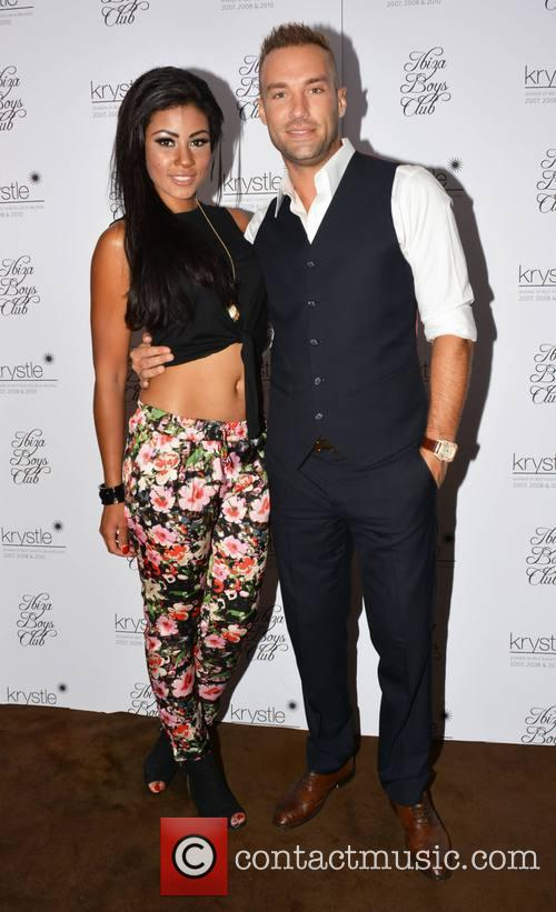 Layla Flaherty and Calum Best 2