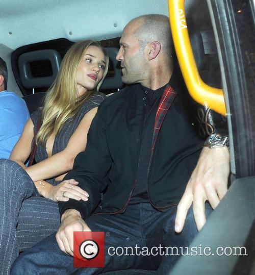 Rosie Huntington-Whiteley and Jason Statham 9