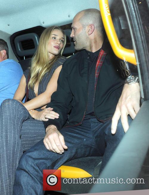 Rosie Huntington-Whiteley and Jason Statham 10
