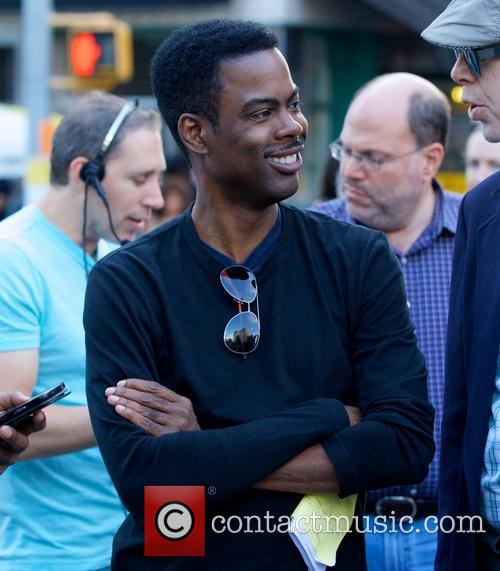Chris Rock in Union Square