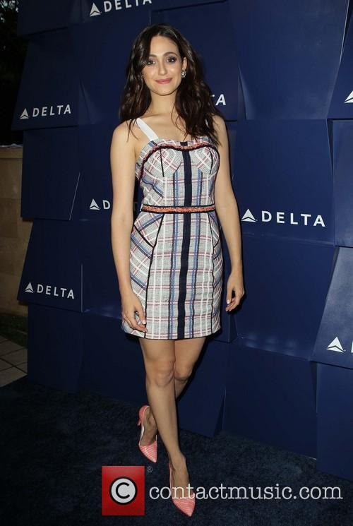 emmy rossum delta air lines hosts summer 3819145