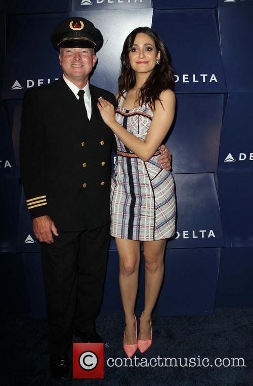 Emmy Rossum, Delta Pilot, Beverly Grove Drive