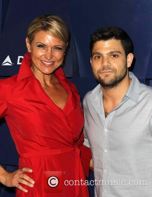 Jerry Ferrara and Delta Stewardess 2