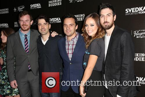 Joe Swanberg, Ron Livingston, Jake Johnson, Olivia Wilde and Ti West 5