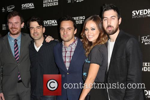 Joe Swanberg, Ron Livingston, Jake Johnson, Olivia Wilde and Ti West 8