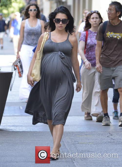 Hilaria Baldwin seen out and about