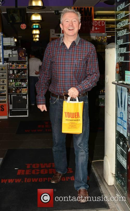 Louis Walsh at Tower Records