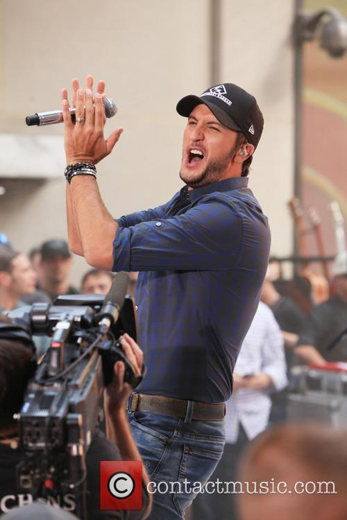Luke Bryan performs on the Toady Show