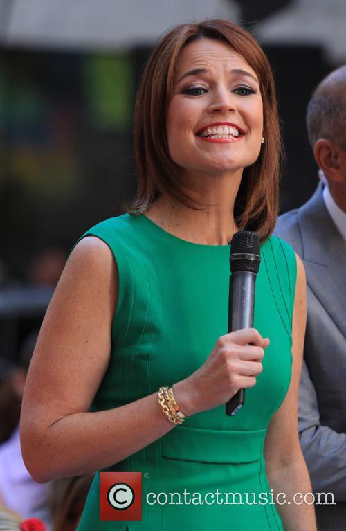 Savannah Guthrie, The Today Show, Rockefeller Center
