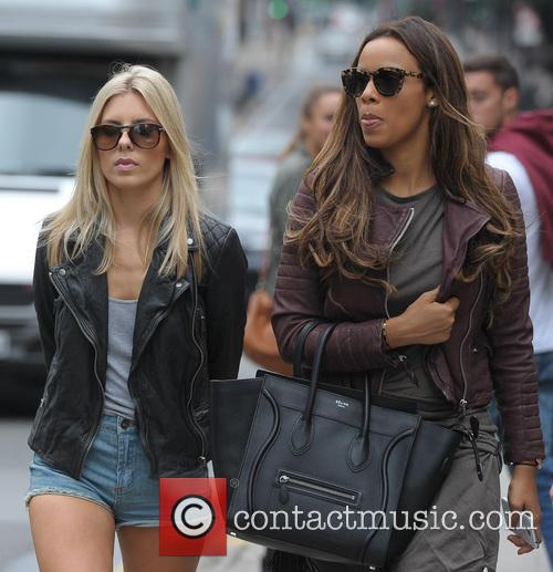 Mollie King and Rochelle Humes 7