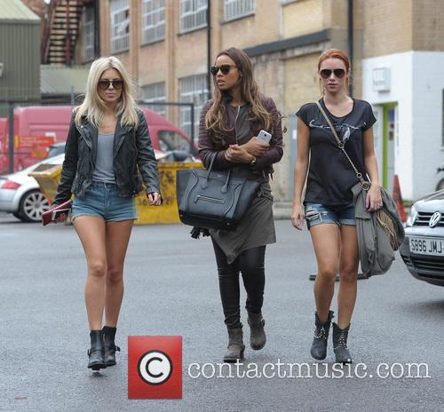 Mollie King, Rochelle Humes and Una Healy 5