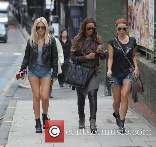 Mollie King, Rochelle Humes and Una Healy 6