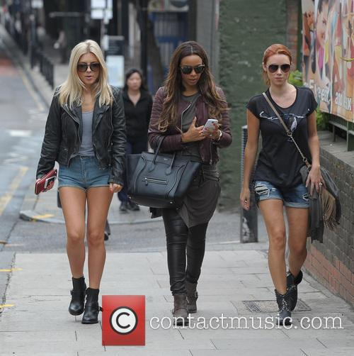 Mollie King, Rochelle Humes and Una Healy 9