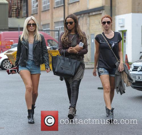 Mollie King, Rochelle Humes and Una Healy 1