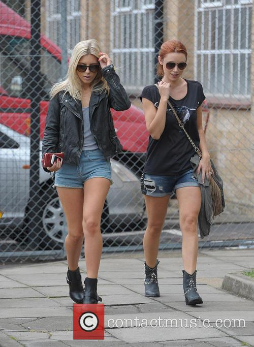 Mollie King and Una Healy 8