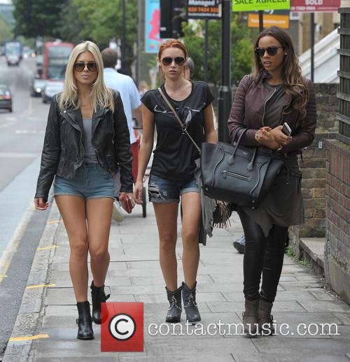 Mollie King, Una Healy and Rochelle Humes 4
