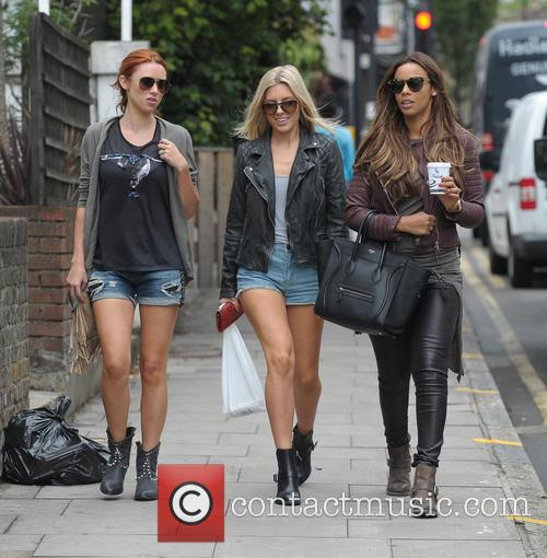 Una Healy, Mollie King and Rochelle Humes 2