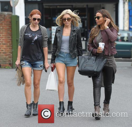 Una Healy, Mollie King and Rochelle Humes 4
