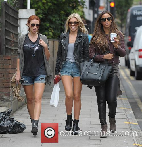 Una Healy, Mollie King and Rochelle Humes 8