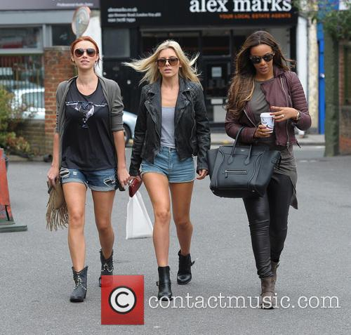 Una Healy, Mollie King and Rochelle Humes 9