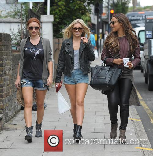 Una Healy, Mollie King and Rochelle Humes 10