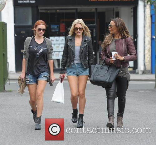Una Healy, Mollie King, Rochelle Humes