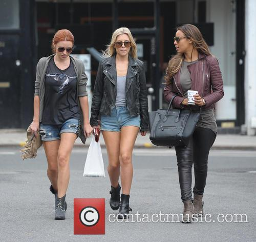 Una Healy, Mollie King and Rochelle Humes 1