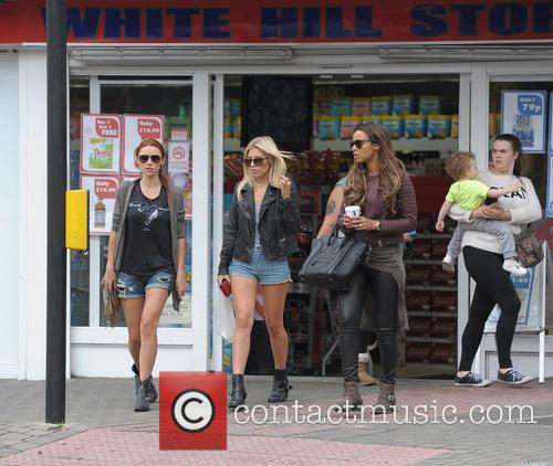 Una Healy, Mollie King and Rochelle Humes 3