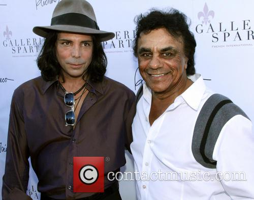 Richard Grieco and Johnny Mathis 1